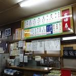 大衆食堂 稲田屋 - 内観♪