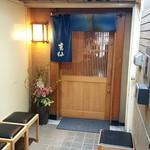 吉仙 - 地下1階の入口