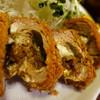 とんち - 料理写真:カレー入りチーズヒレかつ定食 断面