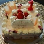 キャトル - 桜のケーキ