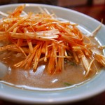 寿福 - ネギみそラーメン「辛み」