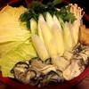かき金 - 料理写真:土手鍋具材