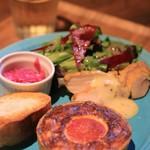 キッシュとフレンチ惣菜のお店 ミネット - 料理写真:ランチプレート