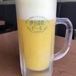 伊豆高原ビール うまいもん処 - 【2018.4.2】甘夏スパークリング¥520