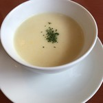 83838098 - セットのスープ 今日は蟹のスープ