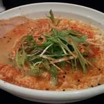 麺のようじ 海 - 料理写真:鯛にごり