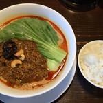 83838400 - 担担麺と小ご飯