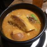 麺飯場 たんや - カレー担々麺