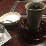 肉料理 かやま - ホットコーヒー