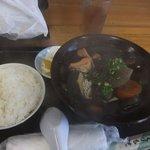 食事処 東ぬ浜 - イカスミ汁