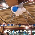 アネア カフェ - 8周年のお祝いバルーン