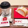 ケンタッキーフライドチキン - 料理写真:ロールケーキセット