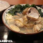 丸亀製麺 - あさりうどん