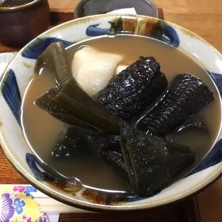 カナ - 料理写真:イラブー汁