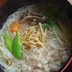 室生寺お食事処中村屋 - 料理写真:にゅうめん