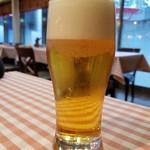 イタリアンダイニングDONA - モルツ生ビール(518円)