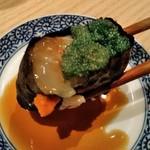 おたる政寿司 - [料理] 海老の身と卵の軍艦巻き アップ♪w