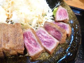 牛かつ冨田 - 牛カツ