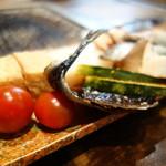 やきとり福住 - 意外にトマト焼きが美味い