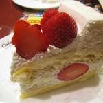 イタリアントマト カフェジュニア - いちごのショートケーキ