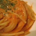 イタリアントマト カフェジュニア - モッツアレラチーズのトマトクリーム アップ