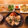 韓美膳 - 料理写真:三元豚サムギョプサルセット