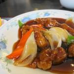 中国料理 富美 - メインの酢豚