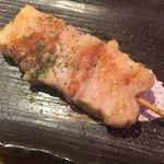 たこ焼酒場 しん家 - たこ焼きセット(*´ω`*)の 豚串