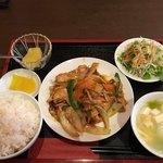 佑佳 - 鶏肉と野菜炒め(2017/07/02)