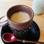 鮨 麻生 平尾山荘 - 新玉茶わん蒸し