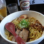 ら~めん からしや - からし麺(タレ多め)2018.4.8