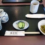 蕎彩庵 - セッティング
