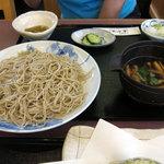 蕎彩庵 - 国産本鴨汁つけそば