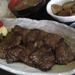創作厨房 わいだ - 料理写真:牛ハラミの一口ステーキ定食(850円)