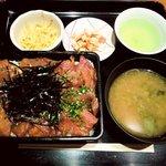 日本料理 岩戸 銀座店 - 日本料理 岩戸 銀座店 まぐろ重 840円
