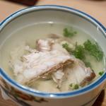 うを徳 - 2018.4 明石の鯛の潮汁 花山椒