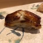 旬美にしかわ - 西川さんでは珍しい鰻の握り
