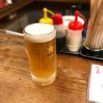 大衆酒場 よっちゃん - 生ビール