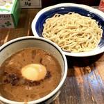 荒海 - 味玉つけ麺 中盛(880円)