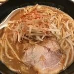 麺屋百式 - 味噌らぁめん2018.4.7