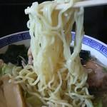 お食事処 きん太 - 細麺