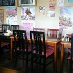 お食事処 きん太 - テーブル席