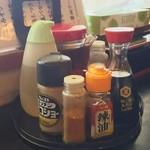 お食事処 きん太 - 調味料