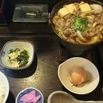 味の六酔 - 料理写真:すき焼き定食1100円(税込)