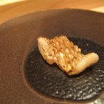 鮨 安吉 - 生の穴子の炙り