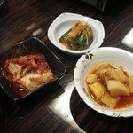 焼肉 蘭 - キムチ