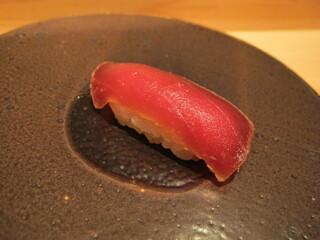 鮨 安吉 - 赤身 漬け