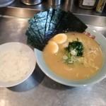 雪濃湯 - 醍醐麺650+大盛100+海苔100+玉子50+半ライス100