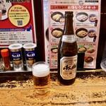 つけ麺専門店 三田製麺所 - 瓶があるよ