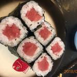 魚魚丸 - 料理写真:中とろ鉄火